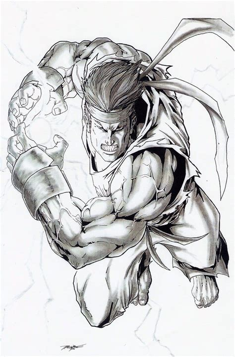 Fighter V Sketches by 133 Best Ryu Fighter Images On