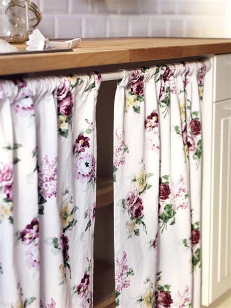 cortina bajo mesada cocinas  inspiran pinterest ikea