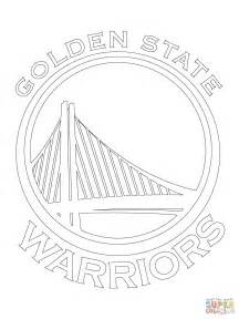 golden state warriors coloring pages golden state warriors logo coloring page free printable