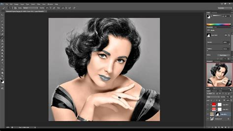 colorize photos photoshop tutorial how to colorize black and white photos