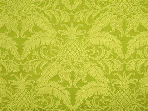 pineapple upholstery fabric braemore pineapple design traditional damask green