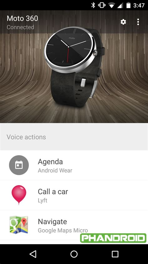 layout android wear the android wear app and google play services are the