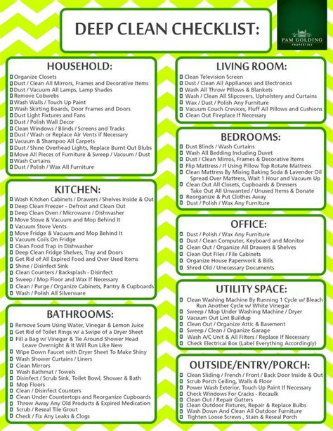 house cleaning list best 25 deep cleaning services ideas on pinterest