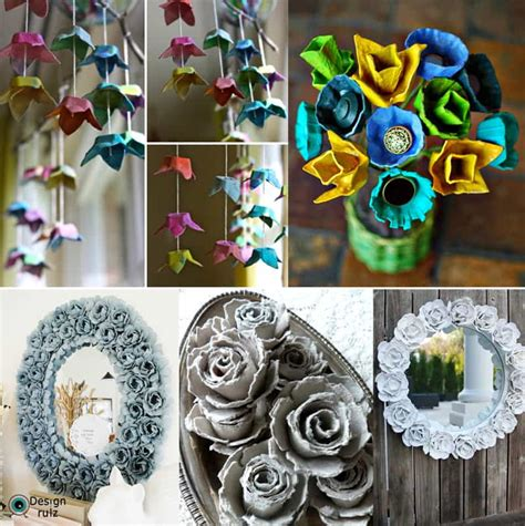 recycled craft projects for adults 30 recycling egg cartons craft ideas