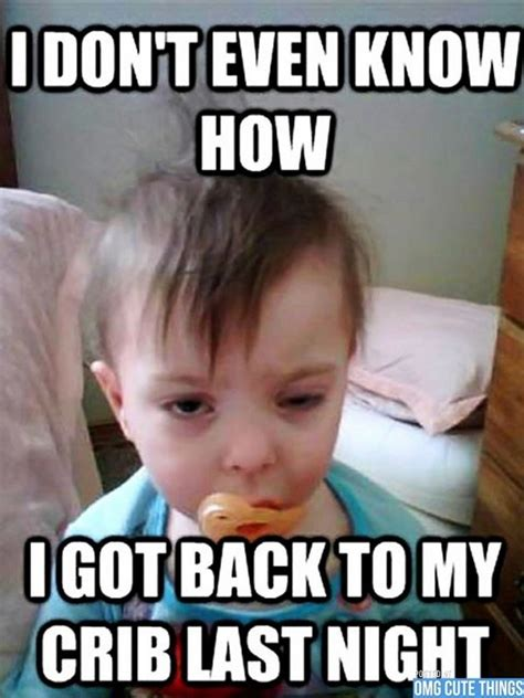 Cute Baby Meme - random funny memes