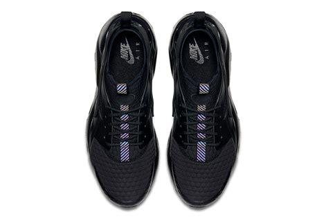 Sepatu Nike Huarache Black Black Premium Quality nike huarache ultra premium se recieves a quot white quot quot black quot makeover hypebeast