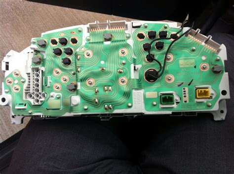 gauge cluster temp gauge problem honda tech