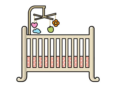 Crib Clipart free to use domain baby clip page 3