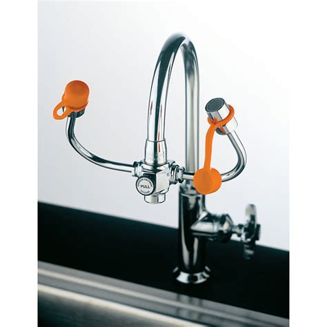 Faucet Mounted Eyewash by Faucet Mount Personal Eyewash With Gooseneck Mounted