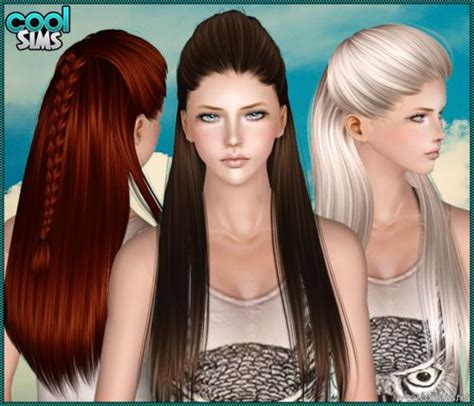 sims 3 custom content females hair bow 95 best images about sims 4 custom hair on pinterest the