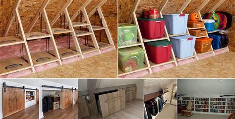 clever storage ideas   attic home design garden