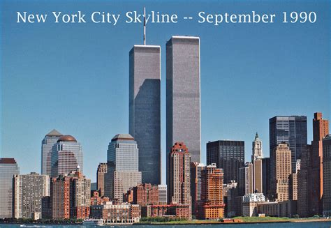 I Am In New York City For My Appearance On The Mar by New York City Skyline Saturday September 8 1990 Flickr