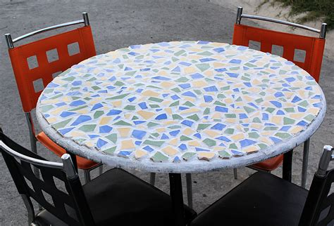 how to make a glass mosaic table top image gallery mosaic table tops