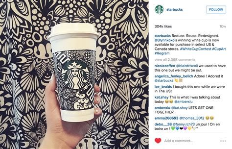 Starbucks Giveaway Instagram - the brand chions of instagram and how they re doing it bowler hat
