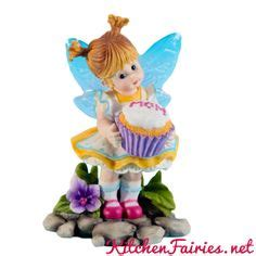 1000 images about collectibles kitchen fairies on
