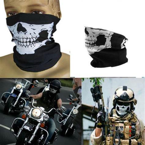 Bandana Motif Topeng Masker Motor jual beli buff bandana masker topeng skull tengkorak motor sepeda hiking baru masker