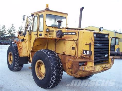 used volvo l90 wheel loaders year 1987 price 18 972 for