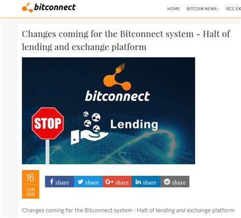 bitconnect quotes bitconnect announces shutdown owners of bcc