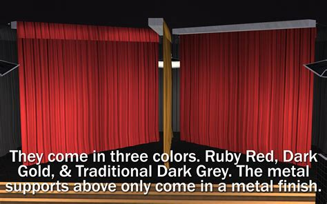 tv curtains mod the sims nci tv performance studio curtains fill