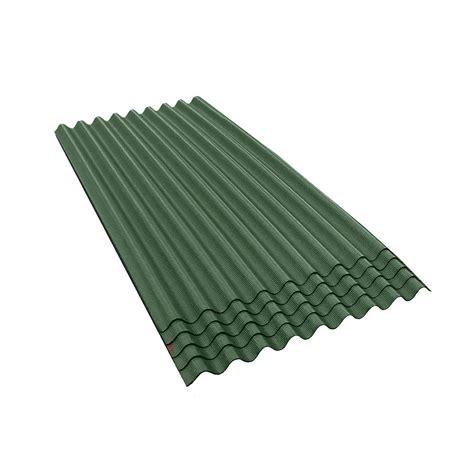 ondura 6 ft 7 in x 3 ft asphalt corrugated roof panel