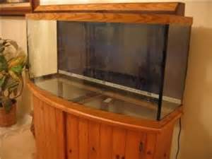 72 Gallon Bow Front Canopy by 75 Gallon Curved Glass Bow Front Fish Marine Tank Aquarium