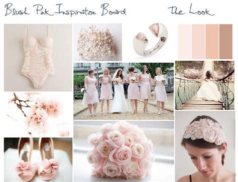 blush inspiration board wedding ideas pinterest