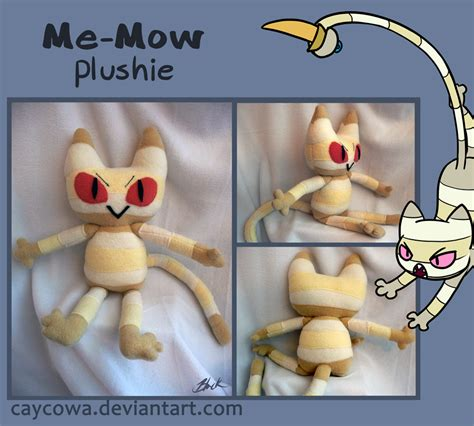 Time Me Me Me - adventure time me mow plushie by caycowa on deviantart