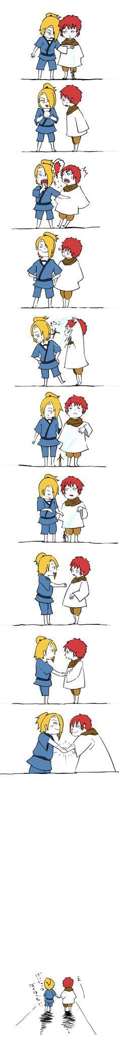 sasori deidara shippuuden anime anime anime