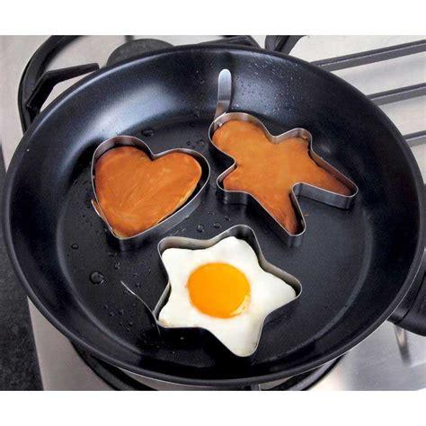 Pancake Cetakan Pancake tanica set cetakan telur dan pancake 3 pcs bentuk