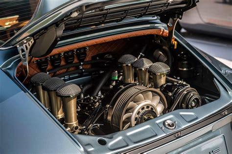 Singer 911 Engine Bay Porsche
