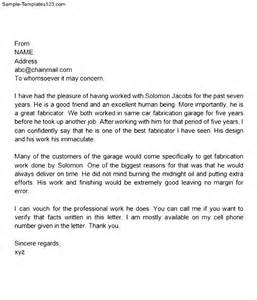 personal letter of recommendation template personal letter of recommendation for a family member sample best photos of personal reference letter of recommendation template
