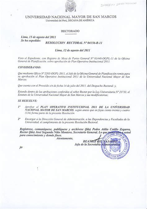 resolucion de intendencia nacional n resoluciones portal de transparencia universitaria