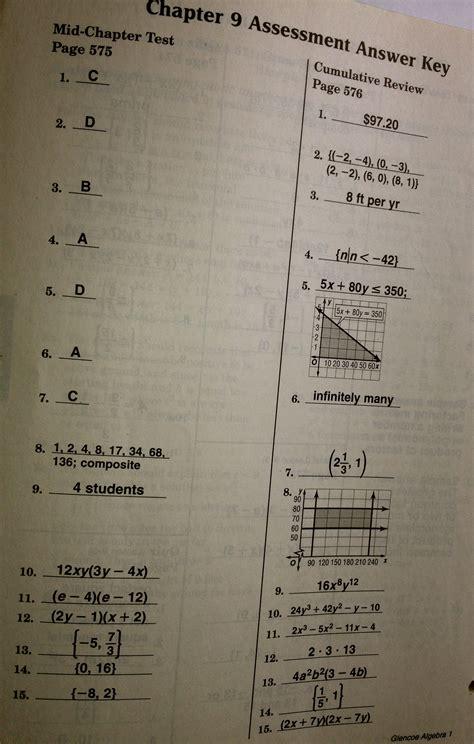 Help Writing Trigonometry Dissertation Chapter by Worksheet Glencoe Mcgraw Hill Algebra 1 Worksheet Answers