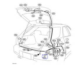 Subaru Electrical Problems Subaru Impreza 2 5i Wagon The Wiring Harness Is Located