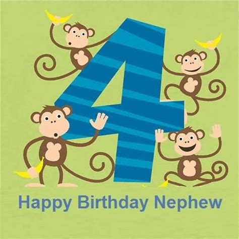 Happy 4th Birthday Wishes Funny 4th Birthday Wishes For Nephew E Card Nicewishes