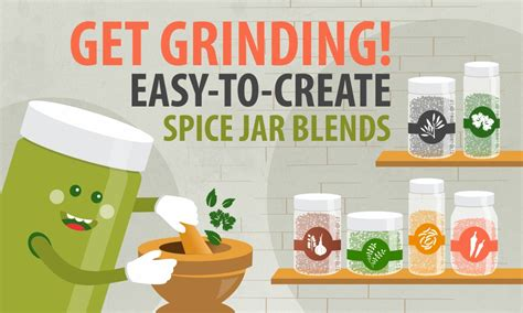 Grind Spices The Easy Way by Get Easy To Create Spice Jar Blends