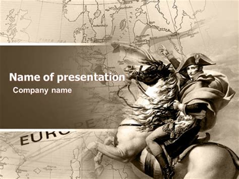 napoleon bonaparte biography ppt napoleon presentation template for powerpoint and keynote