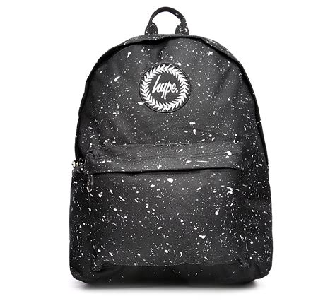 Hype Speckle Backpack by Hype Speckle Backpack Black Footasylum
