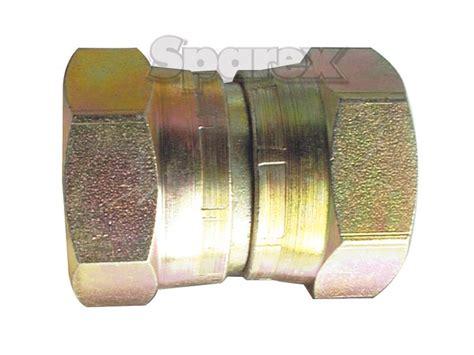 Hydraulic Adaptor s 26514 hydraulic adaptor 3 4 quot bsp 1 quot bsp