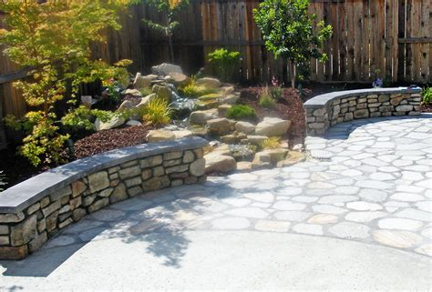 Paving Stones For Walls Artistic Sted Concrete Of Maryland Concrete