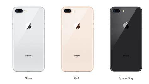 iphone 8 plus colors เปร ยบเท ยบสเปค iphone 8 plus ก บ iphone 7 plus แตกต างก นอย างไร