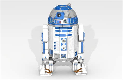 R2d2 L by L3 G0 The Lego R2 D2