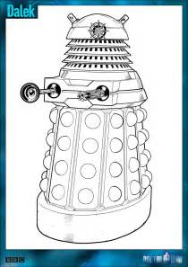dr who coloring book official doctor who