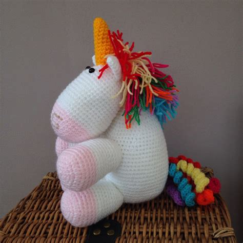Handmade Unicorn - handmade colourful unicorn