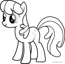 pony lyra colouring pages