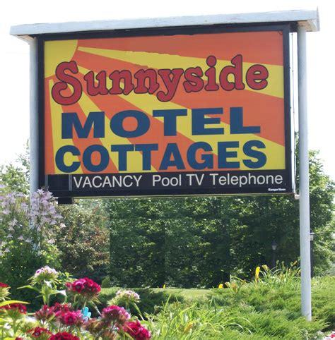 rates reservations acadia sunnyside cottages motel bar