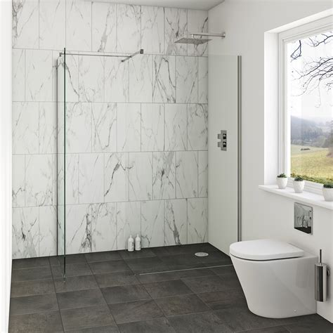 orchard mm wet room enclosure glass panel packs