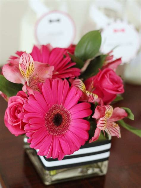 Katee Spadee Flower sleepover birthday ideas flower arrangements kate
