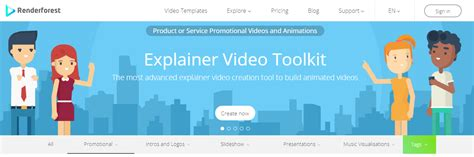 How To Make Promotional Videos For Marketing Small Businesses With Renderforest Tlists Com Renderforest Free Templates