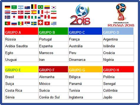 simulador de jogos da copa 2018 copa do mundo guia de